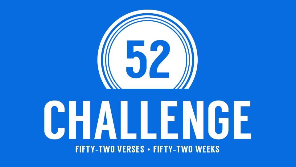 52 Challenge – Week 32